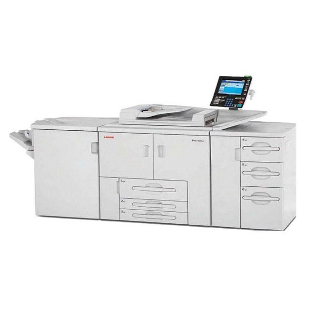 理光 1357 生产型黑白激光打印机出租外观1