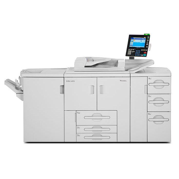 理光 1357 生产型黑白激光打印机出租外观3