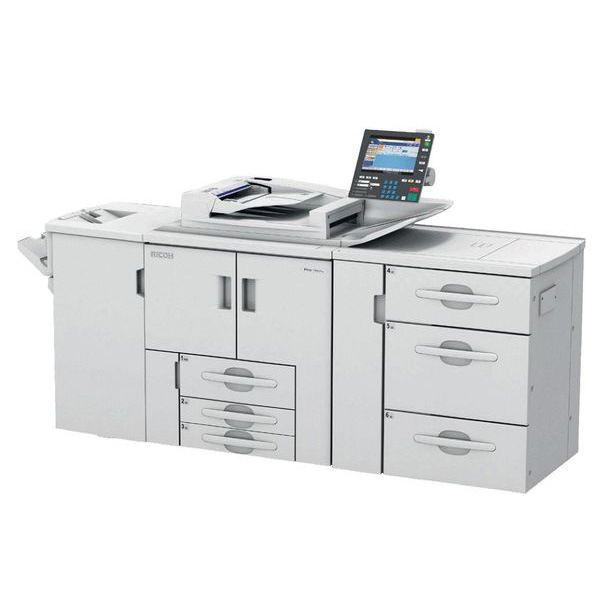 理光 1357 生产型黑白激光打印机出租外观4
